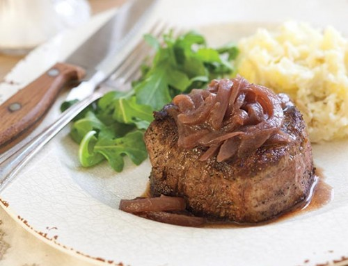 Vidalia Onion Roasted Steaks