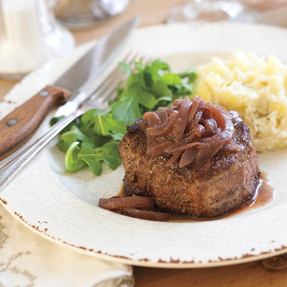 Vidalia Onion Roasted Steaks—Sweet Vidalia Onion Recipes