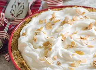 Amaretto Cream Pie