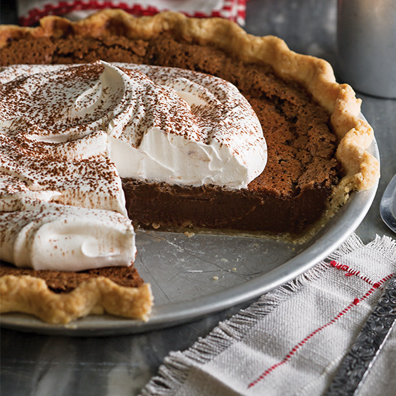 Chocolate Chess Pie Paula Deen Magazine