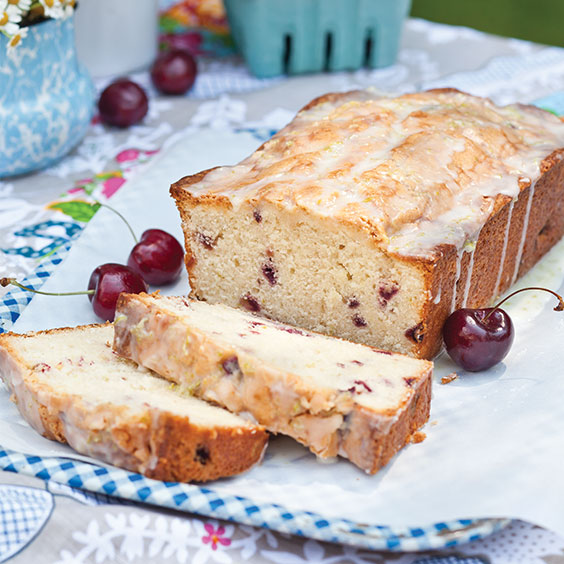 Glazed Cherry-Lime Pound Cakes - Paula Deen Magazine