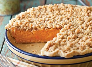 Sweet Potato Toffee Pie