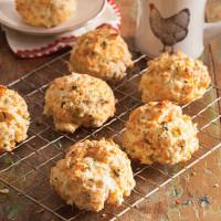 Cheddar Herb Drop Biscuits