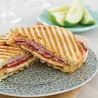 Grilled Chicken Club Panini
