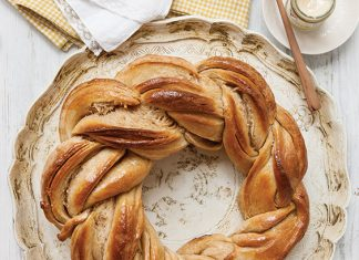Braided Honey Wheat Bread