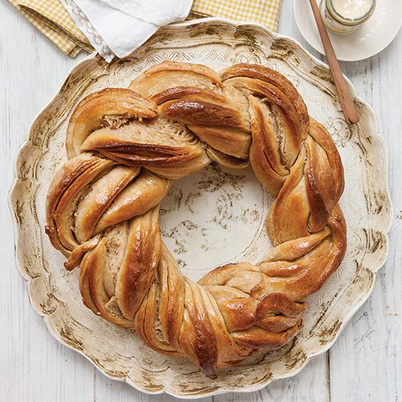 Braided Honey Wheat Bread