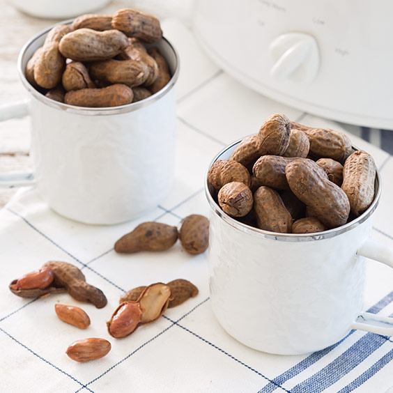 Slow-Cooker Spicy Boiled Peanuts