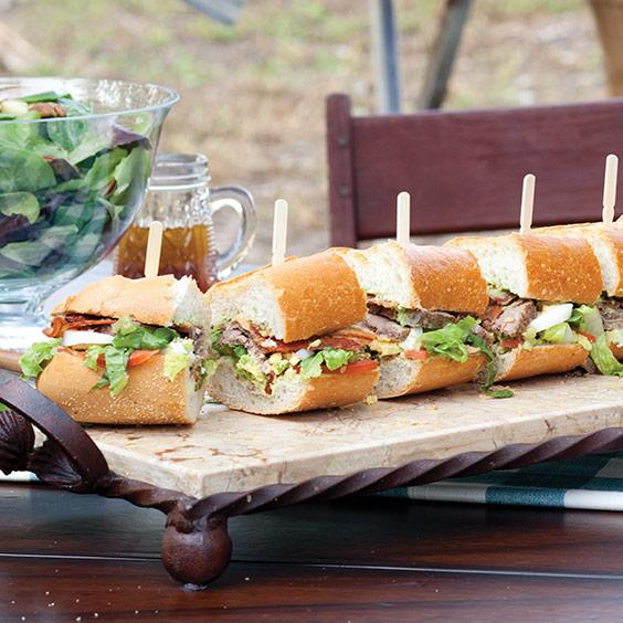 Tenderloin Cobb Sandwich