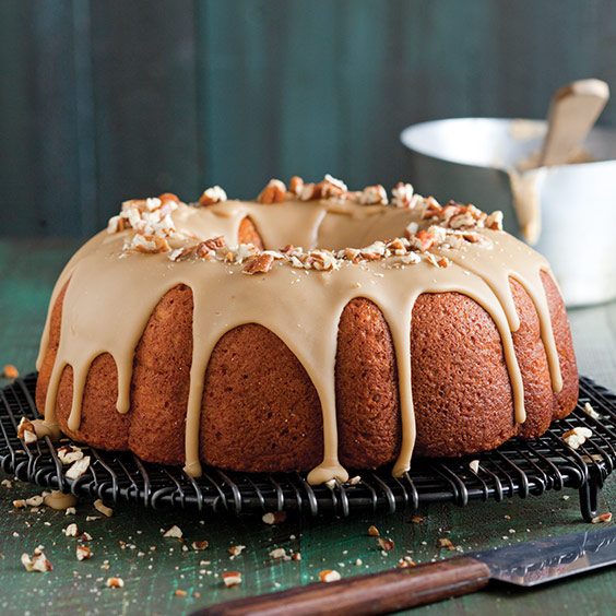 Glazed Sweet Potato Bundt Cake