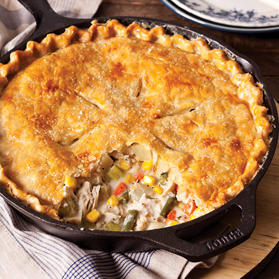 Paula Deen Chicken Noodle Soup: Classic Chicken Pot Pie