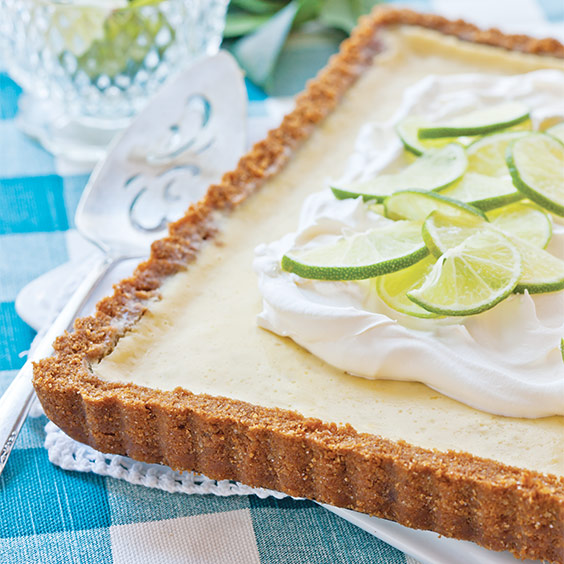 Lime Buttermilk Tart