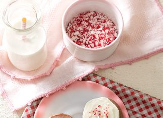 Peppermint and Chocolate Cookies