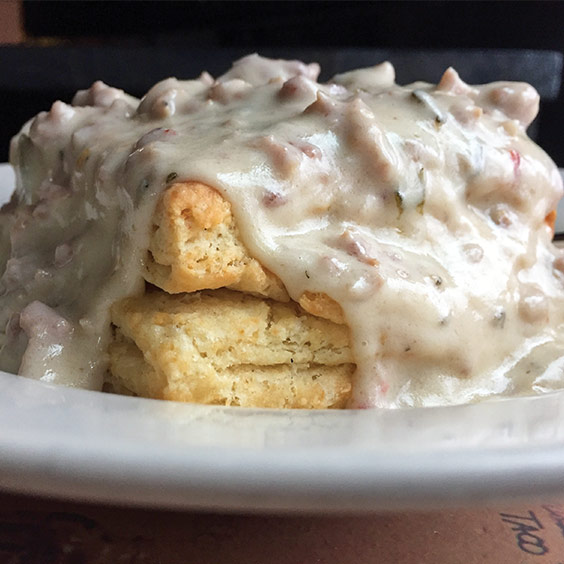 Worth A Try: Biscuits and Gravy