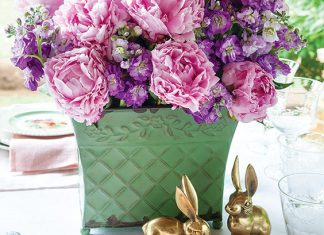 Easter In Bloom: Holiday Menu