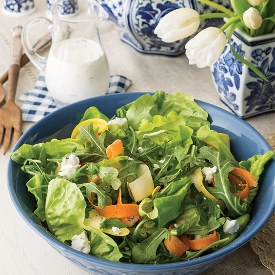 Carrot and Squash Spring Salad