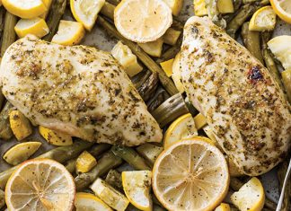 Lemon Herb Chicken and Vegetables