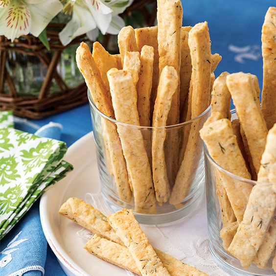 dill cheese straws