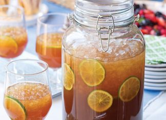 Lime Iced Tea