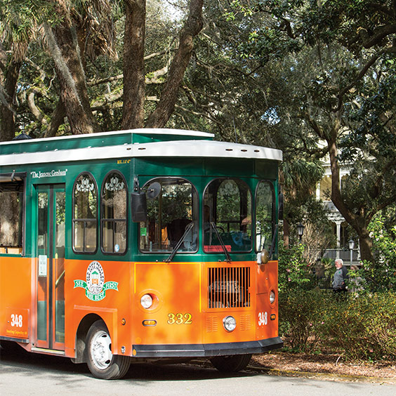 Tour the City of Savannah