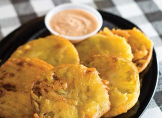 Irondale Cafe Fried Green Tomatoes