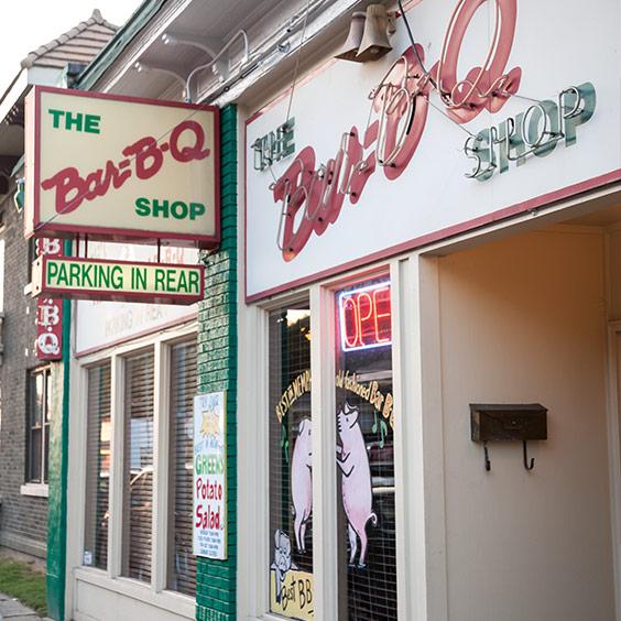The Bar-B-Q Shop, Memphis,Tennessee
