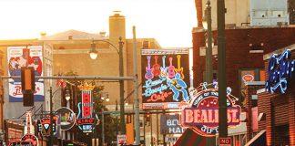 Beale Street, Memphis,Tennessee