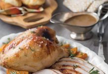Cider-Brined Turkey Breasts