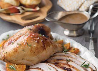 Cider-Brined Turkey Breasts
