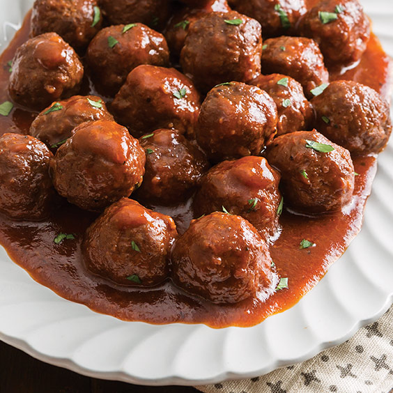 Sweet and Tangy Party Meatballs