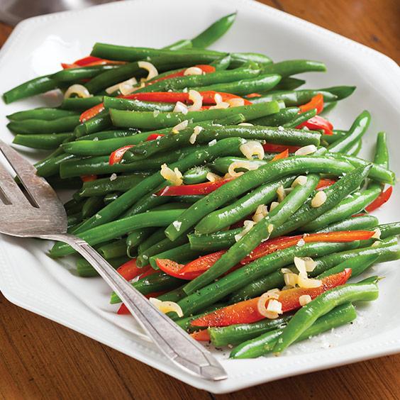 Green Bean and Bell PepperSauté