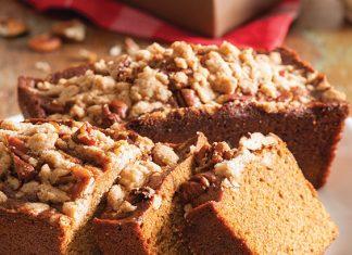 Gingerbread Streusel Mini Loaves
