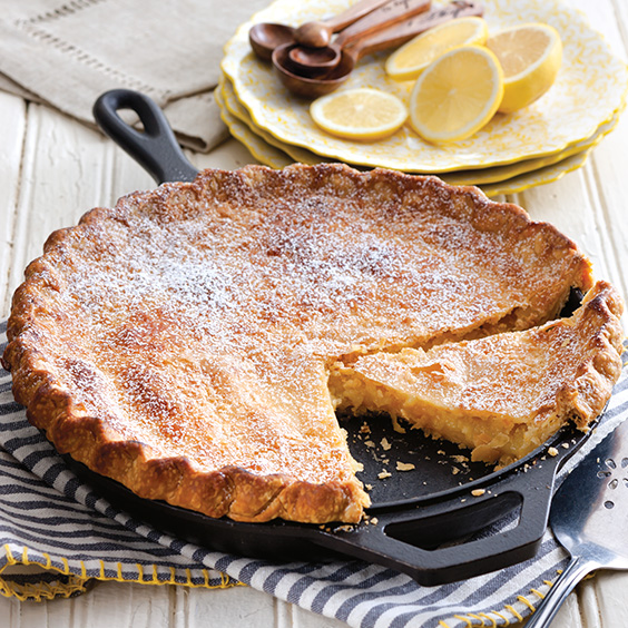 Lemon Shaker Pie