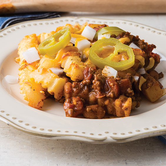 Chili Cheese Fries Casserole