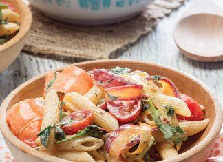 Spring Vegetable Pasta Salad