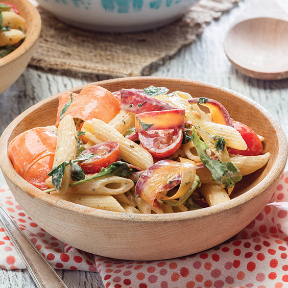 Spring Vegetable Pasta Salad
