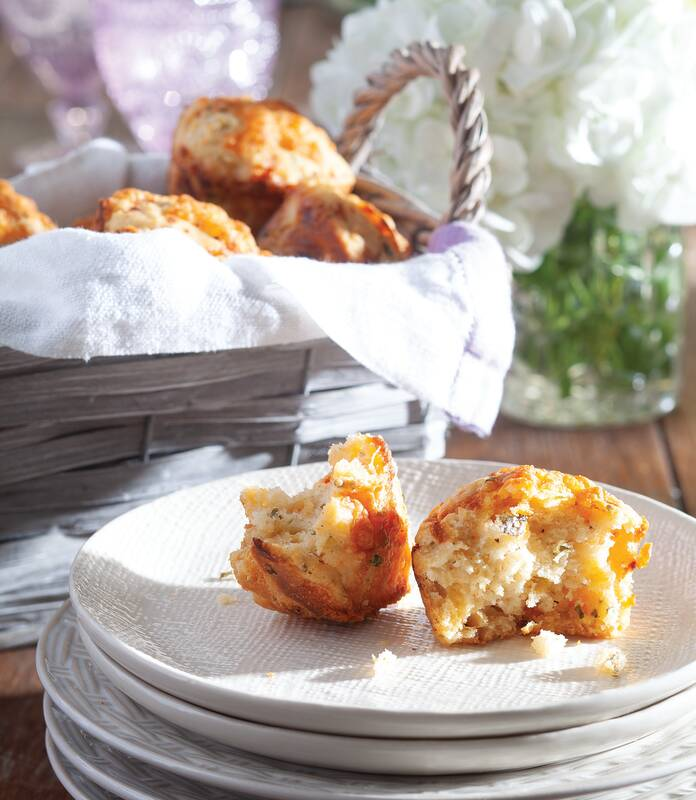 Zucchini Cheddar Biscuits Paula Deen Magazine