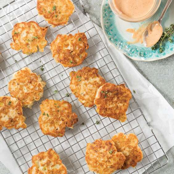 Vidalia Onion Fritters with Comeback Sauce