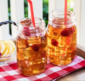 Luzianne Lemon-Raspberry Infused Iced Green Tea