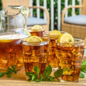 Pitcher of Luzianne Cold Brew Iced Tea