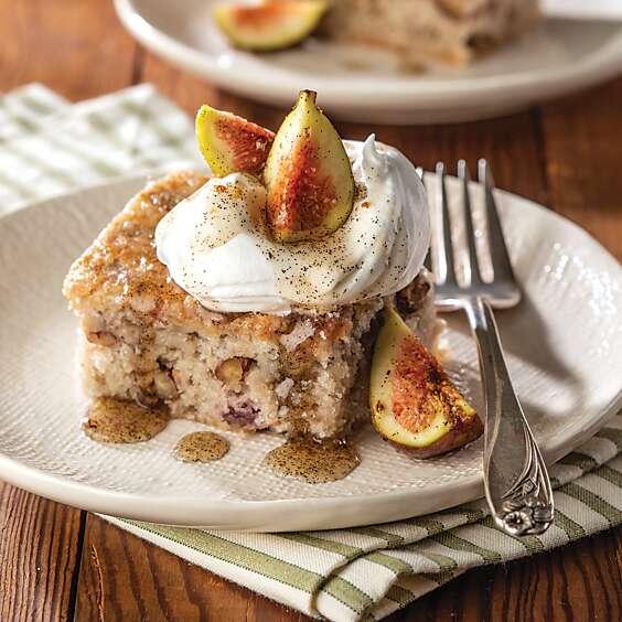 Fig Snack Cake