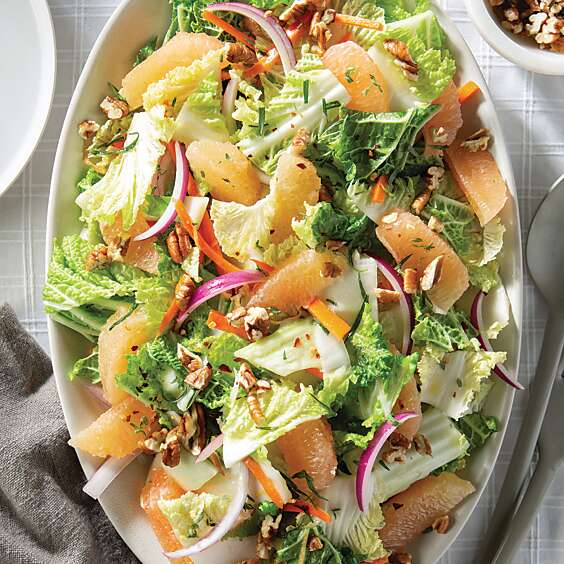 Grapefruit-Cabbage Salad
