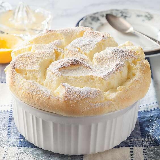 Meyer Lemon Soufflé