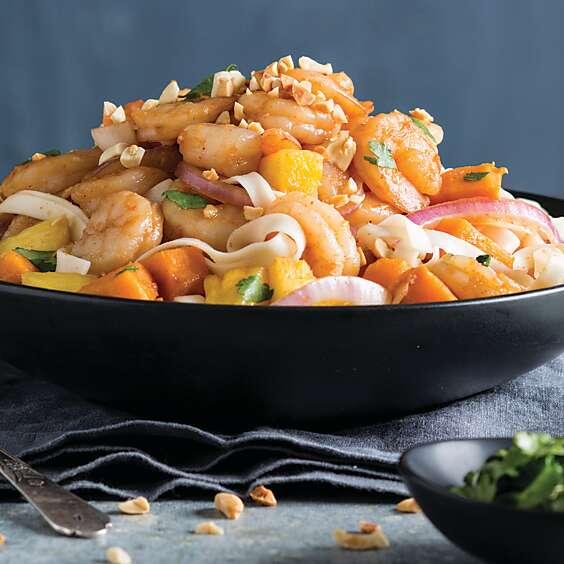 Shrimp and Sweet Potato Stir-Fry