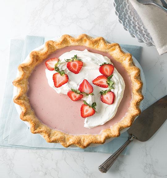 Strawberry Milk Pie