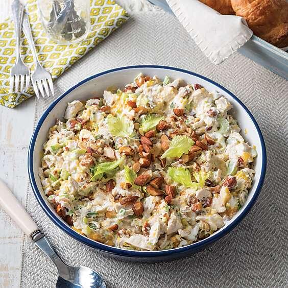 Hot Chicken Salad Casserole