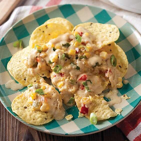 Jalapeño-Corn Cheese Dip